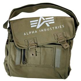 Сумка Alpha Ind. Big A Canvas Courier Bag